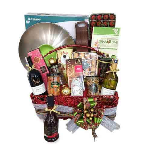 Awe-Inspiring Hamper of Sweet Treats