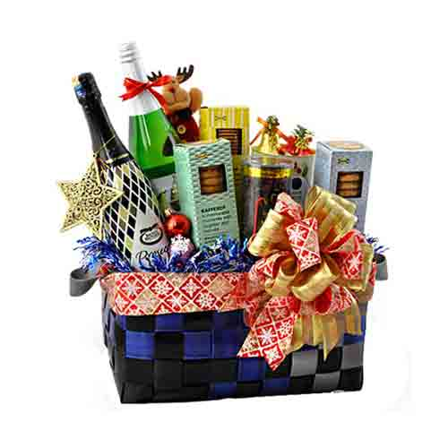 Seasonal Selection Wine N Gourmet Gift Hamper