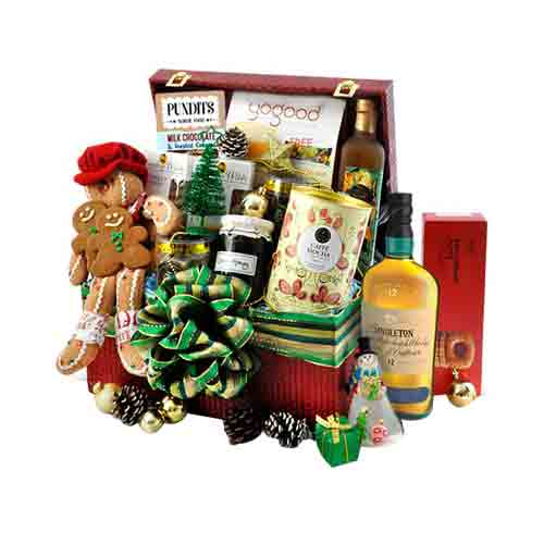 Celebration Special Whiskey N Gourmet Treats Hamper