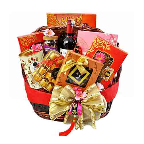Spread The Cheers Holiday Gift Basket