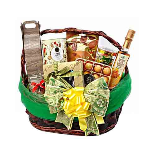 Deluxe Office Share Gourmet Gift Basket