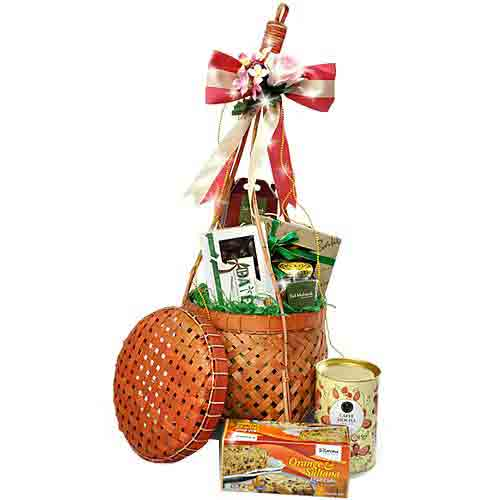 Pure Elegance Gift Basket of Delicacies