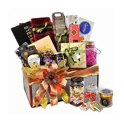 Joyful Pamper Hamper Gourmet Gift Basket